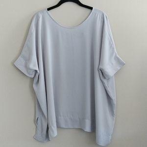 Asos Oversized Top Shirt Short Sleeves Size 4